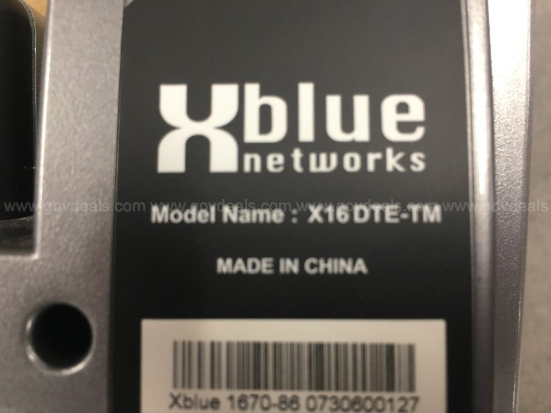 Lot of 8 XBlue Networks Phone System