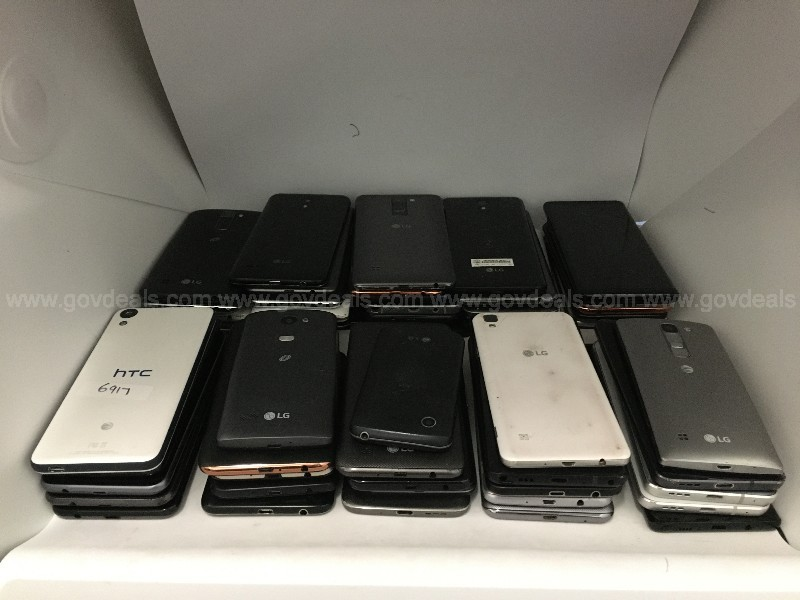 Lot of 52 Android Smartphones