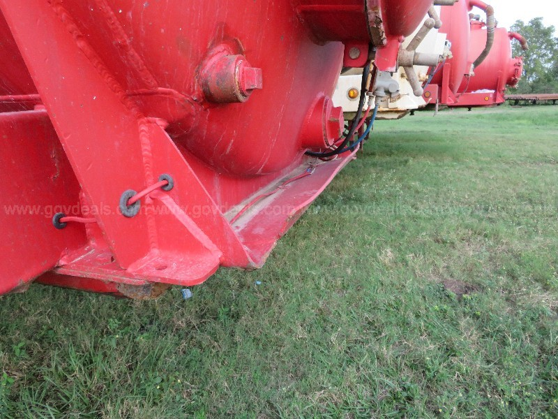 2011 Troxell 130 BBL T/A Vacuum Trailer