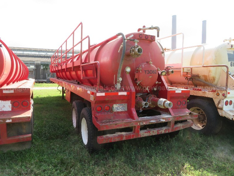 2009 Troxell 130 BBL T/A Vacuum Trailer