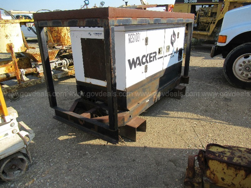 Wacker G25 20 KW Skid Mtd Gen Set