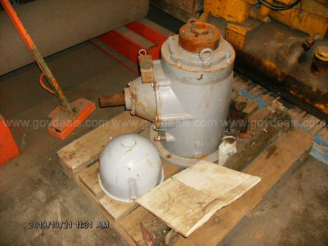 Caterpillar PTO, Amarillo gearbox and pump