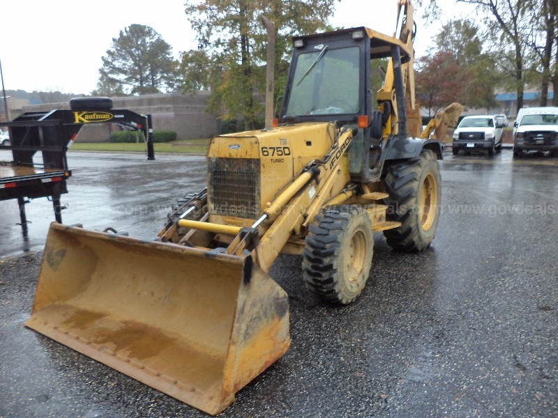1994 Ford 675D Turbo Backhoe