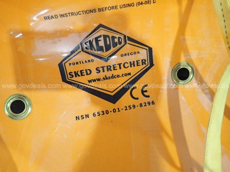 SKED stretcher Very good condition, flexible Stokes
