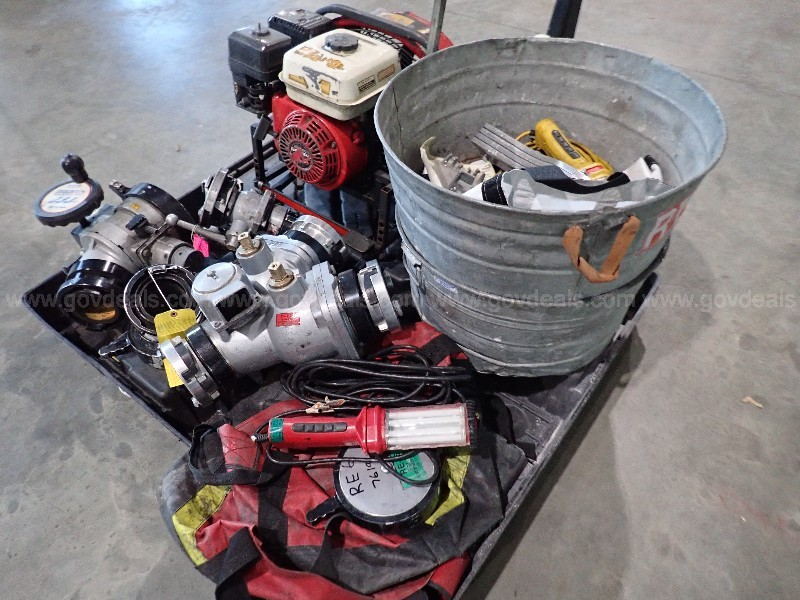 Misc. Lot of used FIRE DEPT.  items