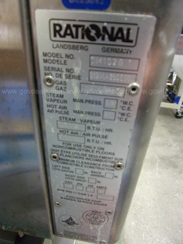 Rational Combi Oven