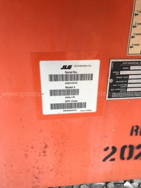 Jlg 450AJ Series 2 Man Lift