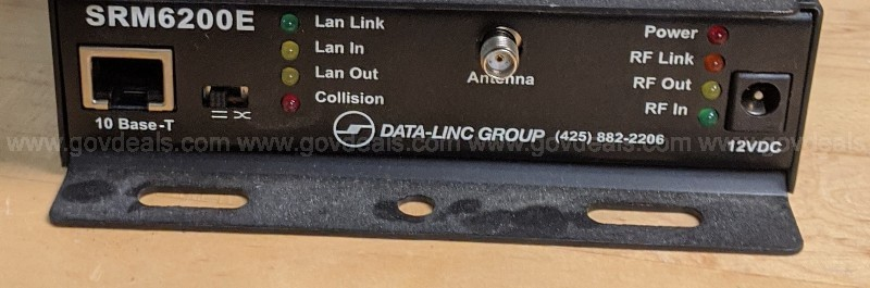 Data-Linc SRM6200E/T Spread Spectrum Frequency Hopping Ethernet Modem