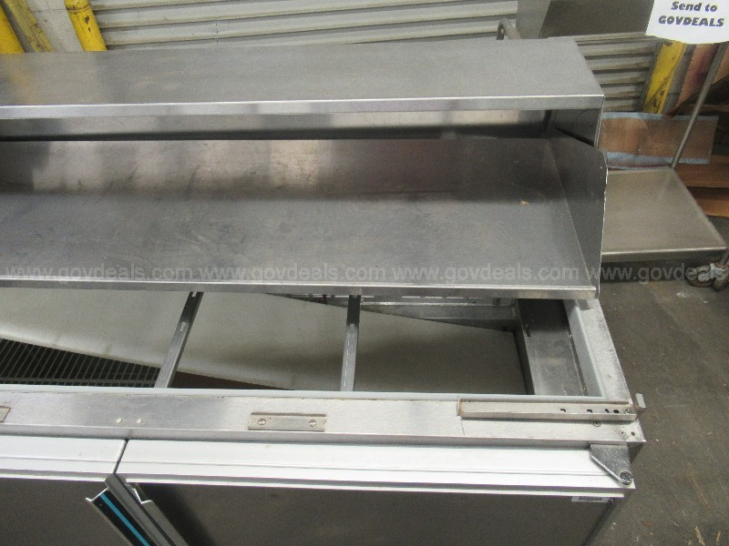 #2661 (1) Used Silver King Cooler and (3) Used Utensil Carts