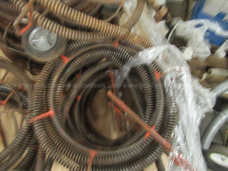 #2779 Lot Of Used Auger Cables