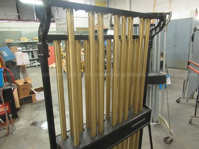 #3005 Lot Of Used Tubular Chimes