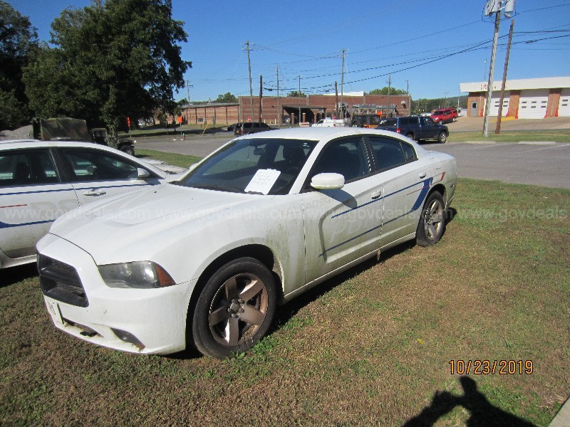 2 Dodge Charger Police Patrol cars (non-operational and cannibalized)