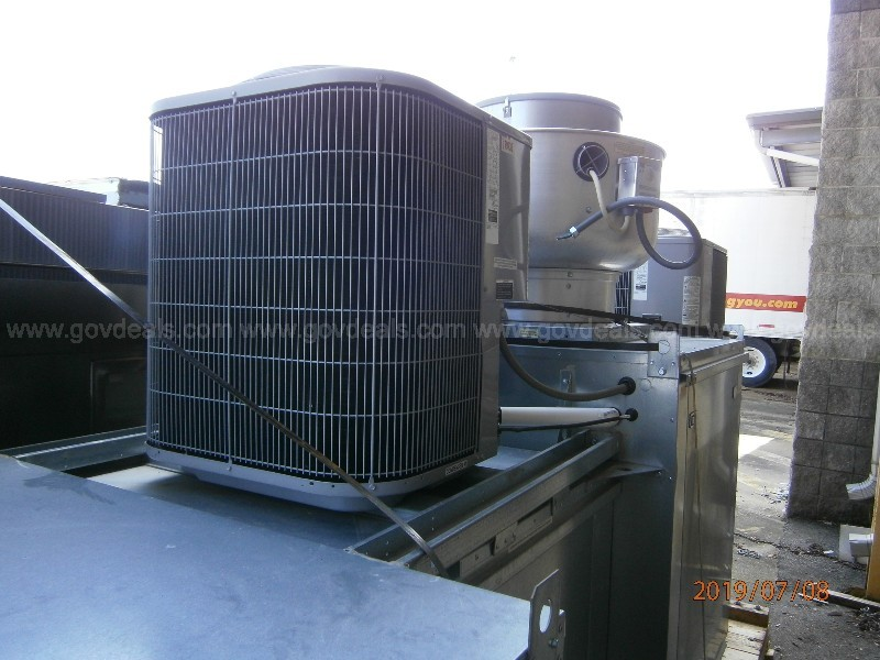 (1) Kitchen Hood & Dist Ctr, (1) Make Up Air Unit and (1) Exhaust Fan