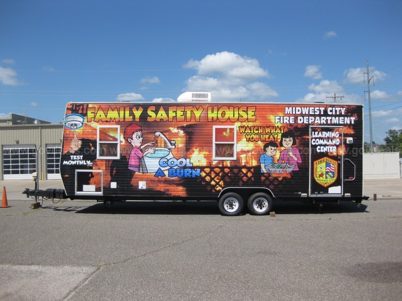 2005 Scotty Fire Safety Education Trailer