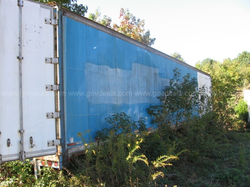48' LONG BOX TRAILER