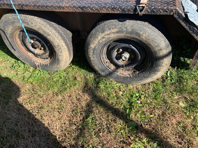 Bumper hitch trailer -- # 17-1072