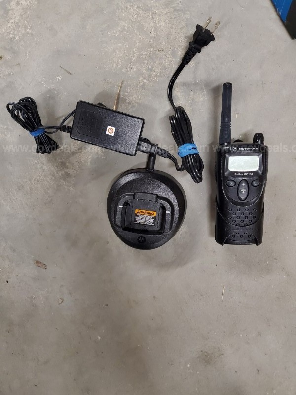 HAND-HELD RADIOS AND CHARGERS