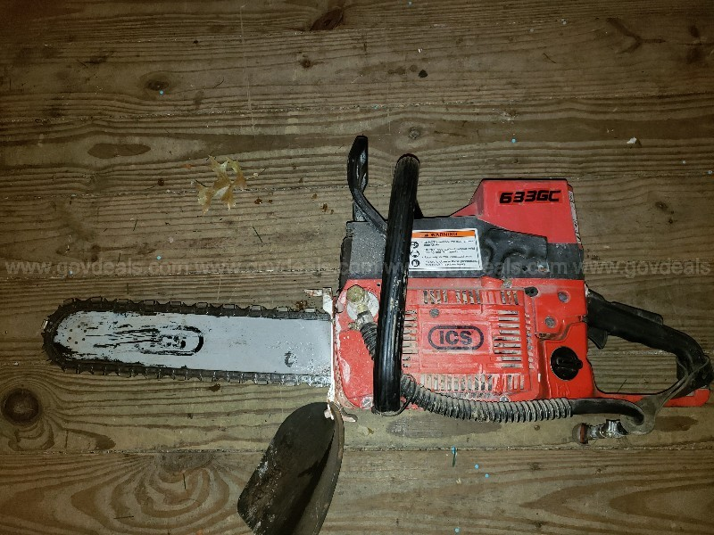 ICS Concrete Chainsaw