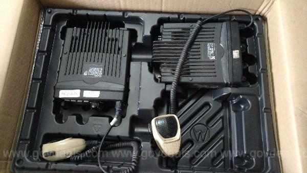 Motorola Radios XTL1500 Mobile (QTY: 8) no Accessories, XTL 1500