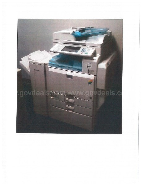 Ricoh MP C500 Copier