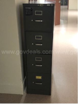 LOT OF 6 FILING CABINETS