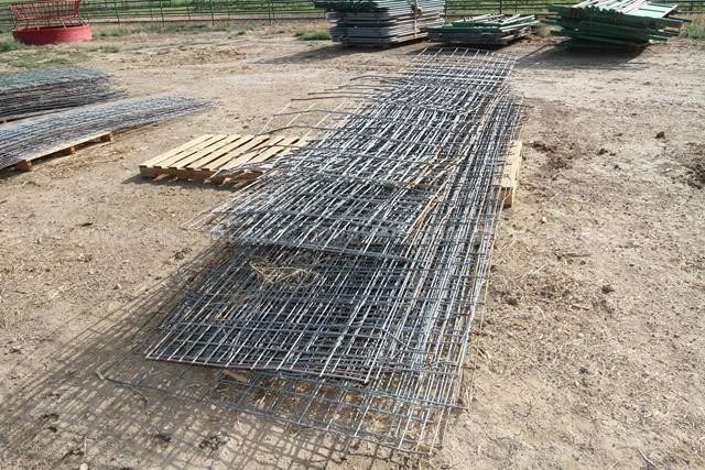 Lot of 48 Wire Hog Panels