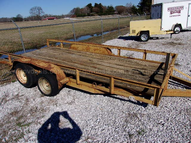 #1 Tandem Axle Trailer 6' -4' wide X 16' Long