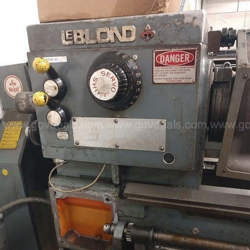 "LeBlonde Regal Regal Servo Shiftl2"" x 48""Engine Lathe TAG # 060441"