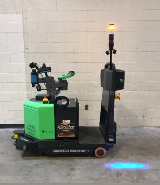 Automated Guided Vehicles (AGV): Vecna Pallet Jack & Tugger