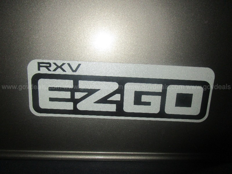 2016 RXV EZGO GOLF CART 48 VOLT