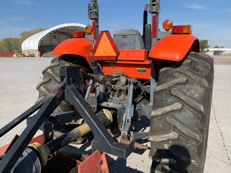 Kubota M8540 4WD Tractor and Mower