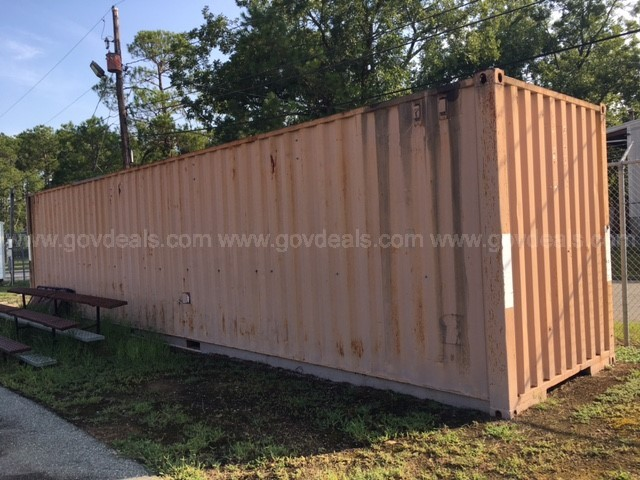 40' CONX BOX USED FOR STORAGE (127181-010 DC)