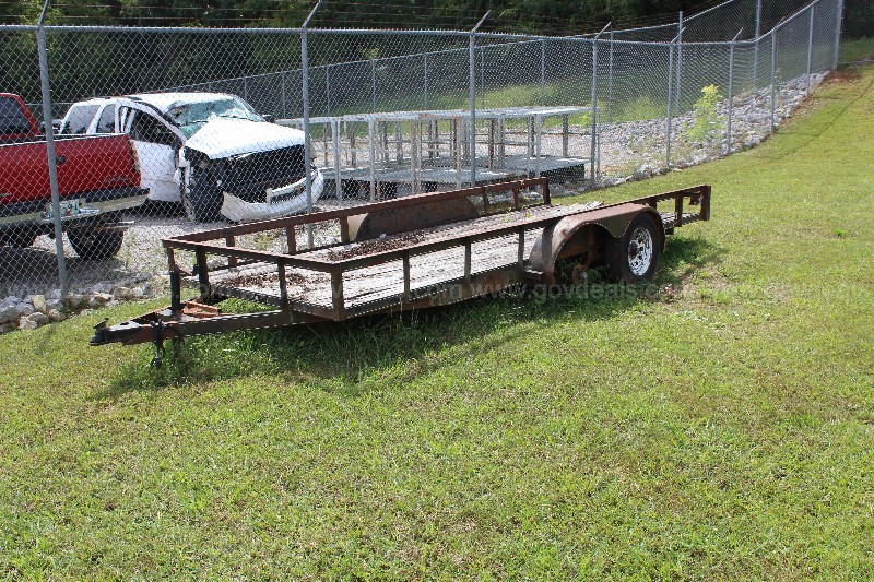 16 ft. dual axle trailer