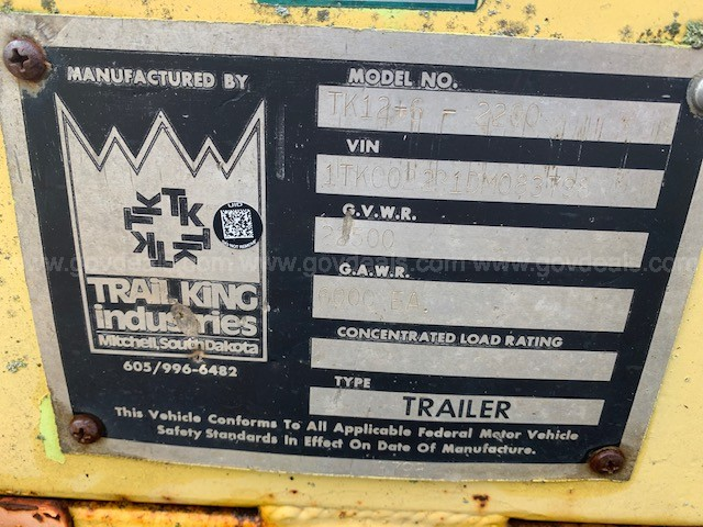 Trail King Trailer