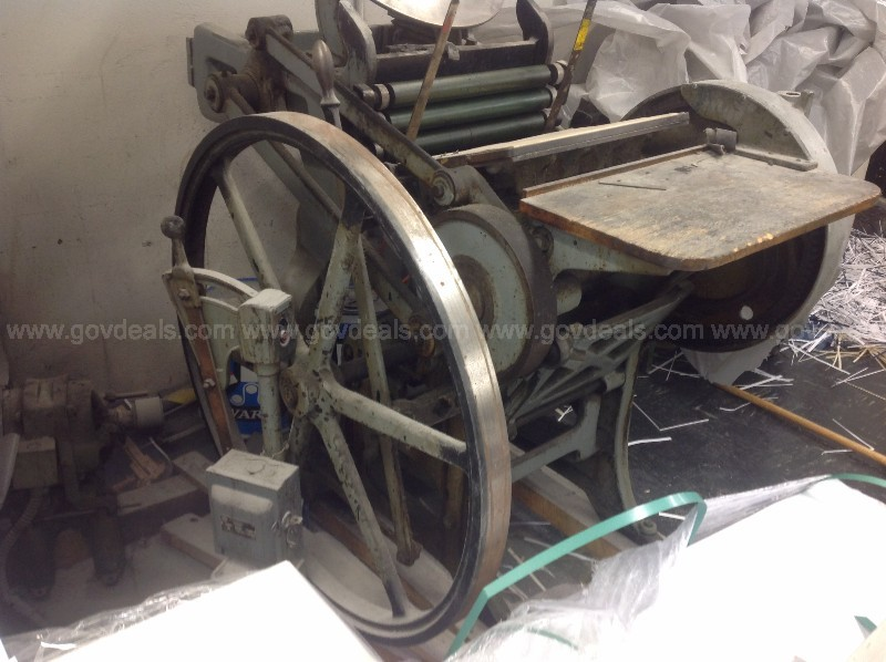 Vintage Chandler and Price Platen Letterpress