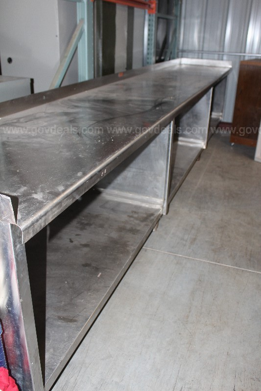 1 -16 ' Stainless Steel tables