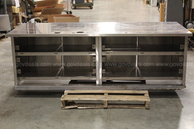 Stainless Steel Table/Cabinet