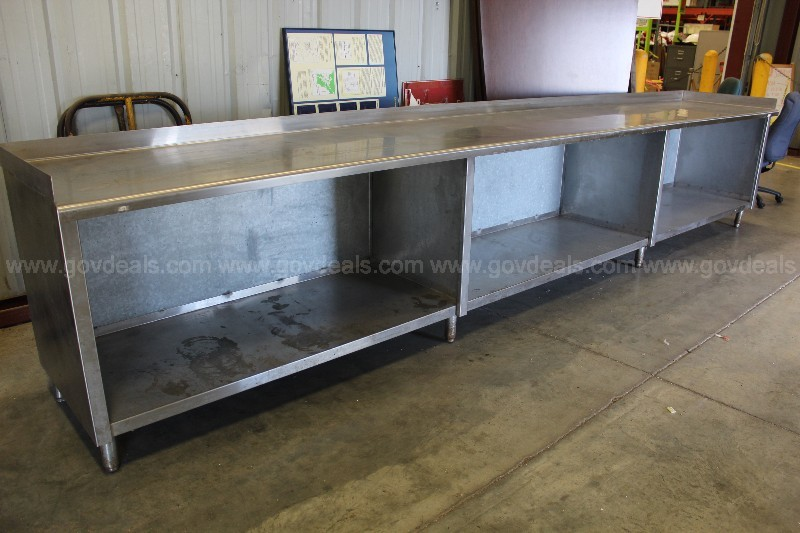 16' Stainless Steel Table