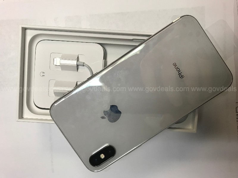 new iphone x in box with all accessories