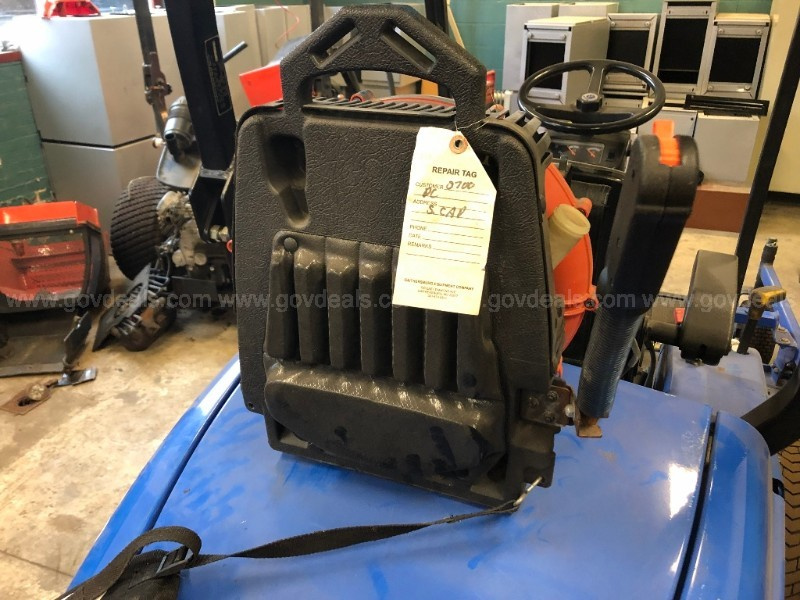 Lot of 12 Echo backpack leaf blowers - salvage - good for parts