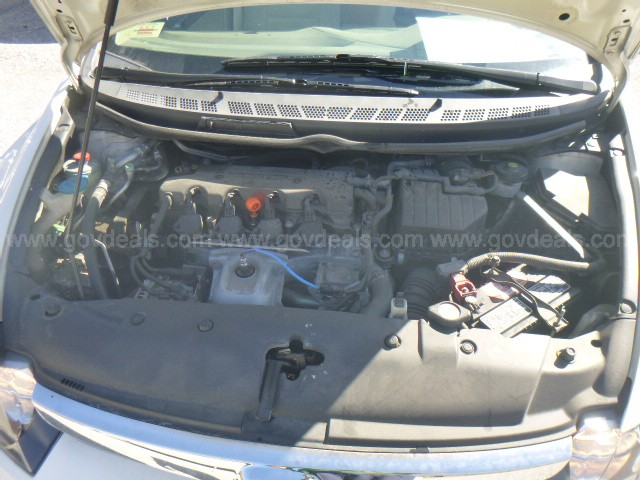 2008 Honda Civic GX Sedan AT-Natural Gas Vehicle