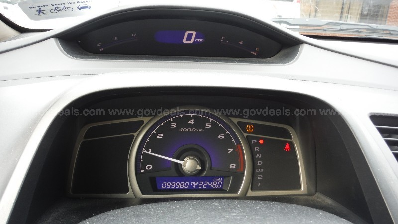 2009 Honda Civic GX 5-Speed AT-Natural Gas Vehicle