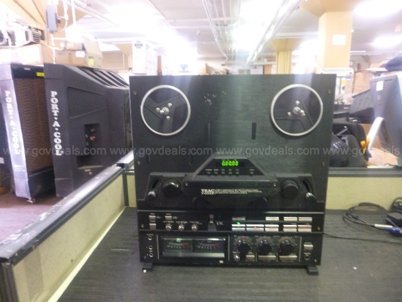 REEL TO REEL TAPE RECORDER – 2 UNITS(WITH 4 BOXES(40) EACH OF AUDIO TAPES)