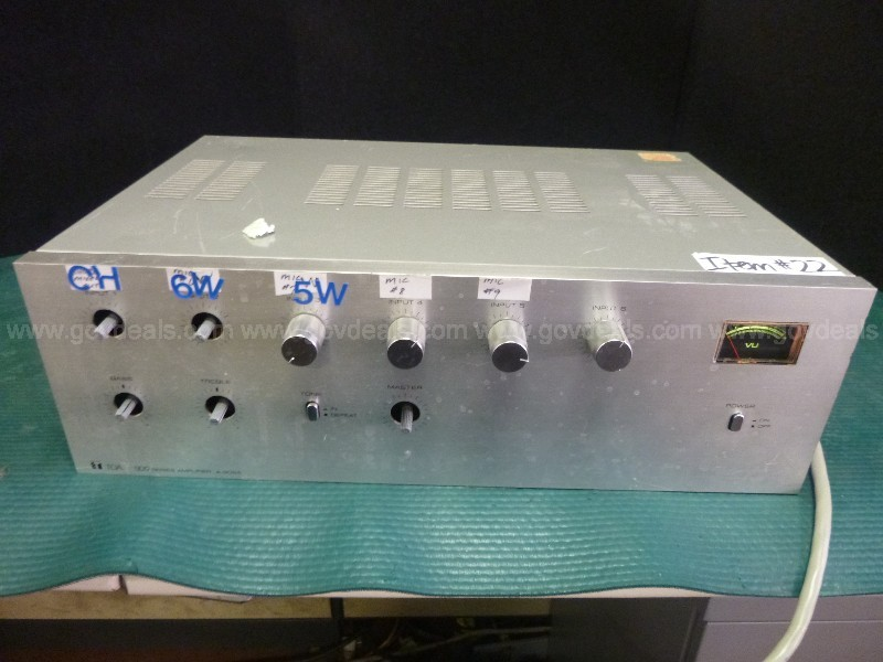 Telecast  / Amplifier / Biamp Systems–14  UNITS