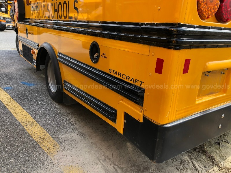 2012 GMC Savana G3500 139 in. Wheelbase School Bus - 6.6L Diesel