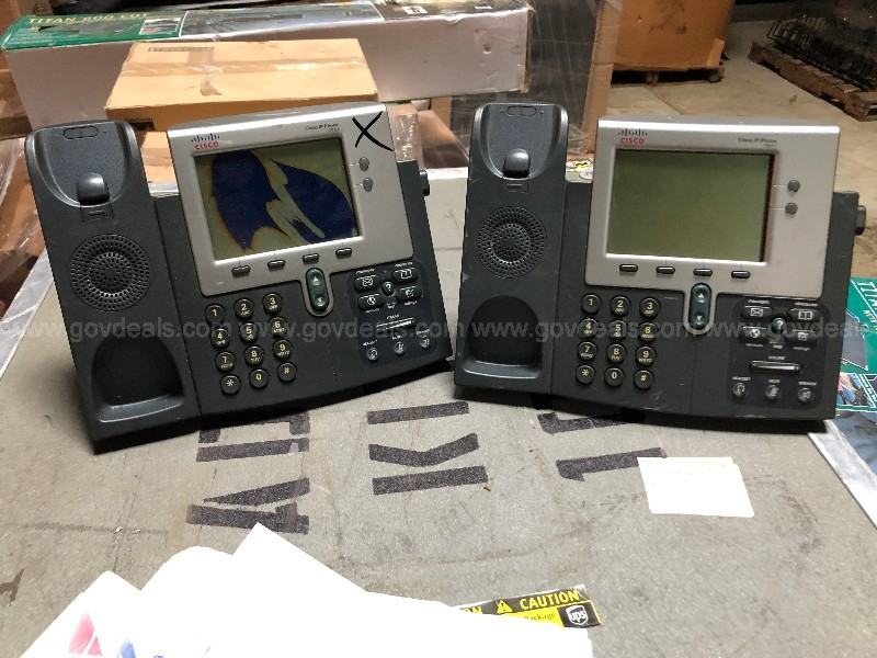 Lot of USED Cisco Office Phones - 3 pallets.