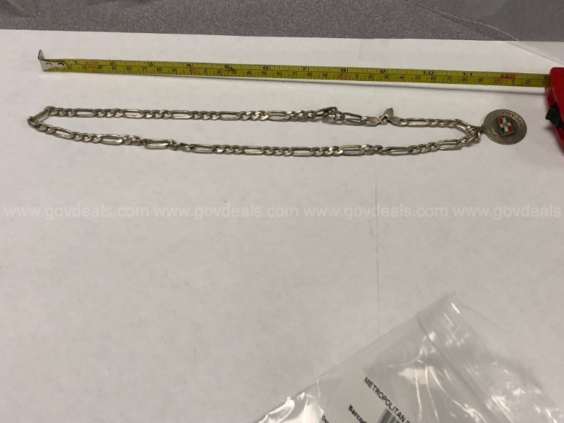 1 large bag of forfeited, lost, and unclaimed jewelry (40 bags inside)