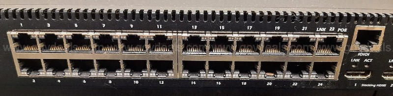Dell  24 Port Ethernet Switch 10/100/1000 mbps