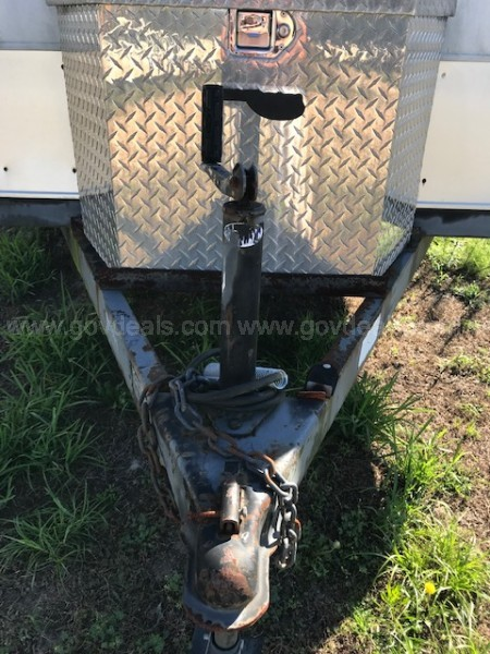 2000 Leonard Enclosed Trailer