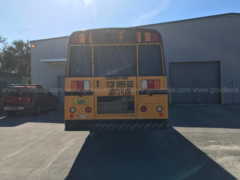 2008 Freightliner School Bus, 71 passenger body by Thomas